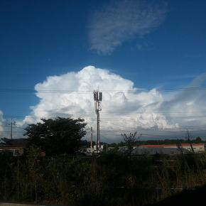 퇴근길 구름..