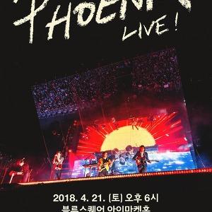 피닉스(PHOENIX) 내한공연 PHOENIX Live in Seoul
