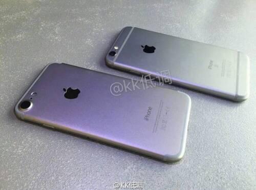 아이폰7 실물 유출, 아이폰6s와 비교
