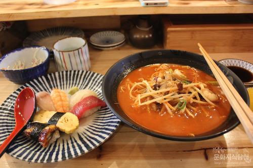 안동맛집 옥동 스시엔짬뽕, 초밥과 짬뽕 셋트!