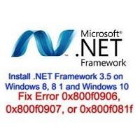 윈도우10 닷넷 프레임워크 3.5 설치 오류 0x800F081F 0x800F0906 해결 방법
