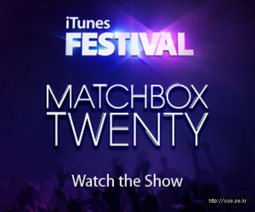Matchbox Twenty @ iTunes Festival 2012
