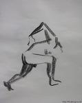 nude sketch - man