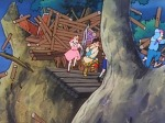 후크의 포격으로 아지트 파괴되다 ピーターパンの冒険 피터팬의 모험 絶体絶命! ウェンディが霧の谷に消えた 제20화
