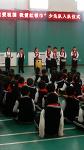중국 로컬 초등학교 소년대 입단식때