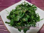 간단하고 맛있는 봄찬 34, 화살나무순 나물~