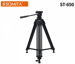 [SOMITA] ST-650 비디오삼각대 / 소미타, 최소 690mm 최대 1600mm, 적재하중 7.5KG