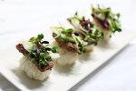 한 입에 쏙 : 소고기초밥