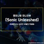 종미니멈 미니리뷰 #11 - Sonic Unleashed