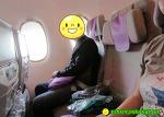 기대했던 남편과의 비행