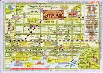 북해도 삿포로 오타루 지도 (OTARU) 한글판