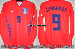 06/08 Korea National Football Team Home L/S No.9 JungHwan Player Issue (SOLD OUT)