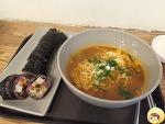 [광화문] 김밥을 맛있게 먹는법 -  라면은 남이 끓여줘야 맛있다!!