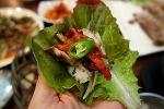 스페인 친구가 헉~하고 놀란 한국의 쌈 채소