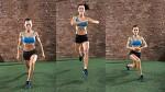 하체근육 강화운동방법 - 180도 점핑런지!