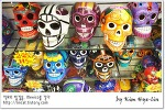 [적묘의 멕시코]할로윈에 어울리는 기념품들, 해골, 까뜨리나,La Catrina,멕시코기념품