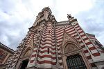 [콜롬비아 보고타 여행] 줄무늬가 독특한 카르멘 성당