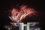 제17회 한성백제문화제 불꽃놀이