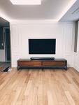벽지 TV,  OLED65W7이  들어왔다.