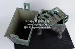 X238. 청동 정 (분리형) -여기저기 알튐 및 산화된 부분과 파손된 부분이 보임- 4.9kg