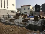 전원주택신축사례: 오배수배관 및 1층스라브 골조공사사례[집짓기/주택신축/공사견적/건축적산]