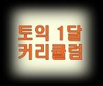 토익/토익인강/토익과외/ 1달 커리큘럼