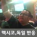 독일, 멕시코 대조적인 반응 영상, 한국-독일전 [러시아 월드컵 2018]