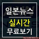 실시간일본뉴스(일본뉴스 실시간) 무료보기 방법