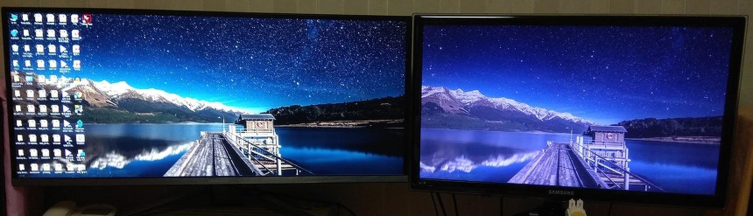 크로스오버 344FW 모니터 사용기 및 21:9 vs 16:9 모니터 화면 비교