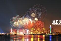 포항불꽃축제 불빛축제 그화려했던 장면들