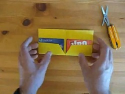 2분만에 만드는 지갑 종이접기 동영상입니다.