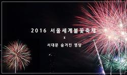 2016 서울세계불꽃축제! 한강 불꽃축제 숨은 명당자리 공개!