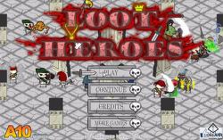 rpg 플래시게임 루트히어로즈(ROOT HEROES)