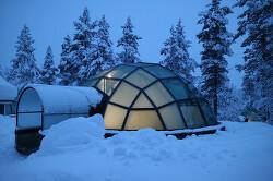 유리 이글루 핀란드 칵슬라우타넨 Finland Kakslauttanen ARCTIC RESORT