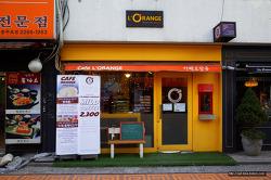 [리코 GR][충무로][맛집]아기자기한 디자인과 특별한 롤케이크가 있는 카페 오랑쥬(Cafe L'ORANGE)