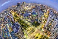 구로동 높은곳에서 바라보는 아름다운 저녁[D5100/구로동/야경/서울전망좋은곳/서울야경]