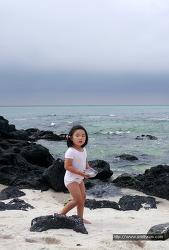 [51개월] 곽지해수욕장, 꼬리달린 은수