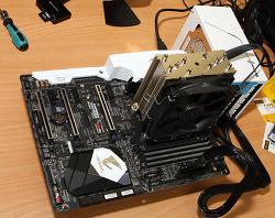 AMD 라이젠7 1700 AORUS AX370 Gaming 5 조립하기