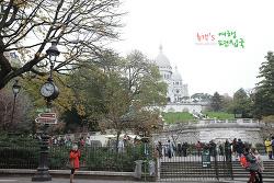 프랑스 여행〃파리 예술의 중심. 몽마르뜨에 오르다