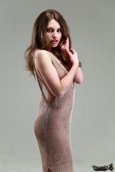 외국인 모델 Katia, 입술이 매력적인 카티아양