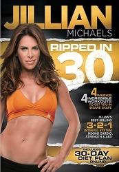 [Part1] Jillian Michaels(질리안 마이클스)의 Rippedin 30일 다이어트 홈트레이닝 소개