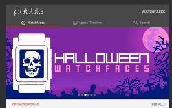 페블워치 와치페이스 & 앱 홈페이지에서 미리보기 !! pebble watchface app