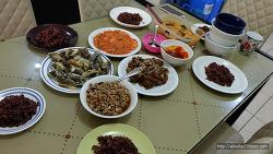 한국/태국/필리핀 조합의 밥상, 태국친구를 집에 초대하다.