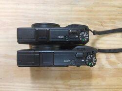 리코 GR digital IV 와 GR 비교
