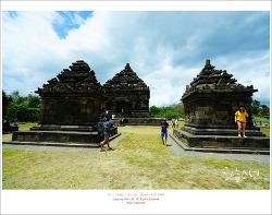 인도네시아 족자카르타 여행 - 족자카르타를 한 눈에 내려다 보는 장소인 이조사원 (Candi Ijo)