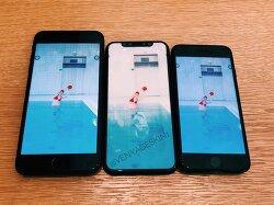 애플 - OLED 디스플레이를 사용한 아이폰8과 아이폰7 시리즈 비교