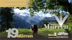 Murren, Switzerland 스위스 뮈렌
