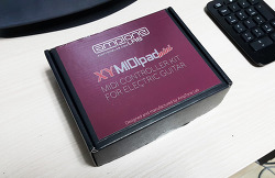 뮤즈 기타 만들기: XY MIDIpad 설치 완료!