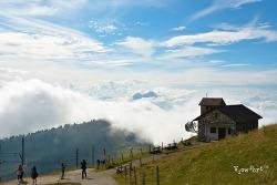 세계최초의 산악열차를 타고 오르는 리기산(Rigi Kulm)-루체른여행