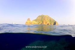 Dive Dokdo, East Sea, Korea